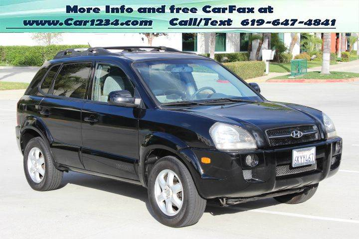2005 hyundai tucson gls 4dr suv in el cajon ca car 1234. Black Bedroom Furniture Sets. Home Design Ideas