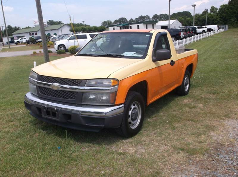 2008 Chevrolet Colorado 4x2 Work Truck Regular Cab 2dr - Smithfield NC
