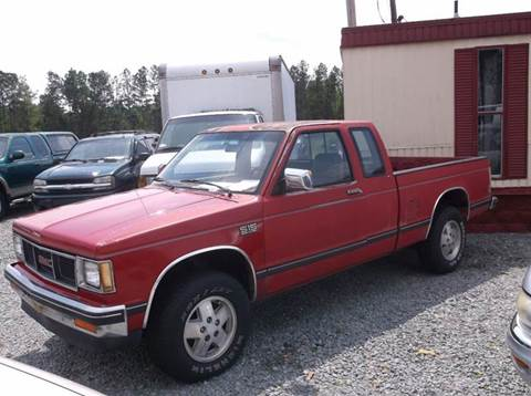 1989 GMC S-15 for sale in Smithfield, NC