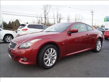 2014 Infiniti Q60 Coupe for sale in West Long Branch, NJ