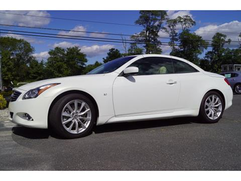 2014 Infiniti Q60 Convertible for sale in West Long Branch, NJ