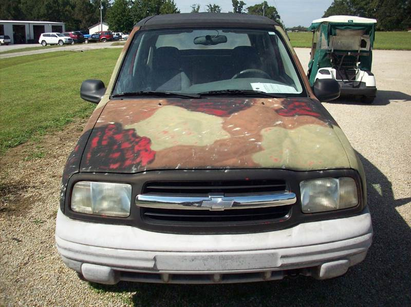 2000 Chevrolet Tracker 2dr 4WD Convertible - Gainesville MO