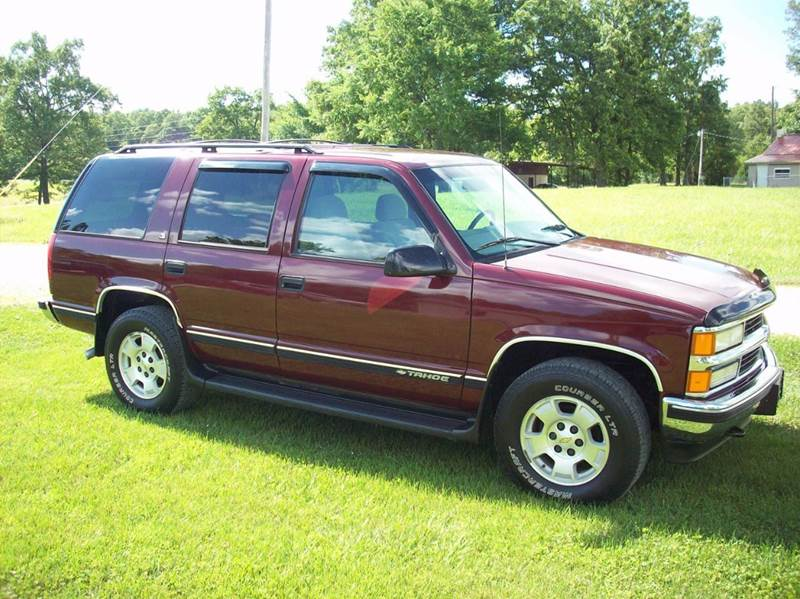 1999 Chevrolet Tahoe 4dr LS 4WD SUV - Gainesville MO