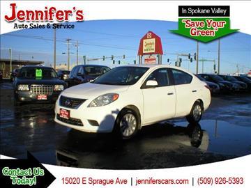 2012 Nissan Versa for sale in Spokane Valley, WA