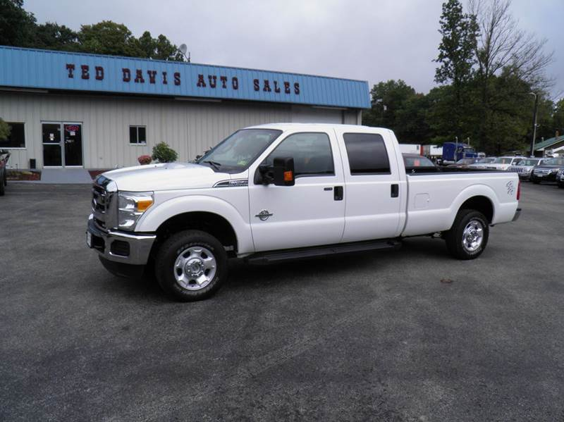 2012 ford f 250 super duty 4x4 xlt 4dr crew cab 8 ft lb pickup in riverton wv ted davis auto. Black Bedroom Furniture Sets. Home Design Ideas