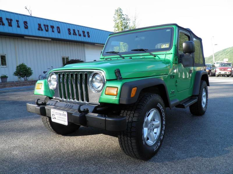 2004 Jeep Wrangler 2dr X 4WD SUV - Riverton WV