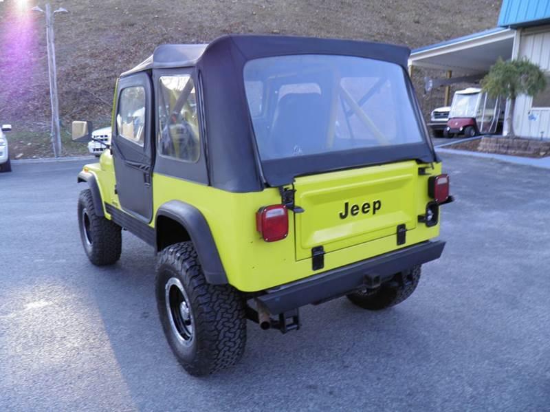 1985 Jeep CJ-7 2dr 4WD SUV - Riverton WV