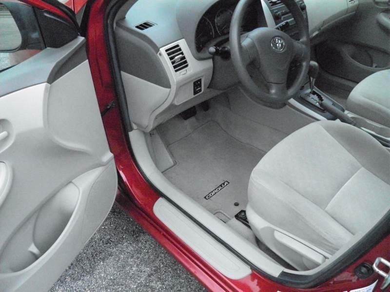 2009 Toyota Corolla LE 4dr Sedan 4A - Riverton WV