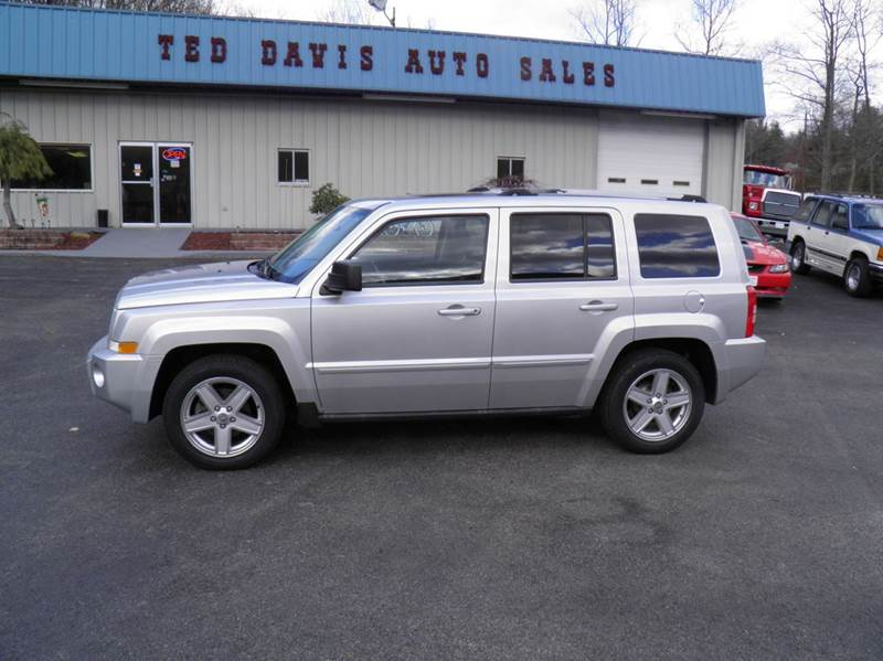 2010 jeep patriot 4x4 limited 4dr suv in riverton wv ted. Black Bedroom Furniture Sets. Home Design Ideas
