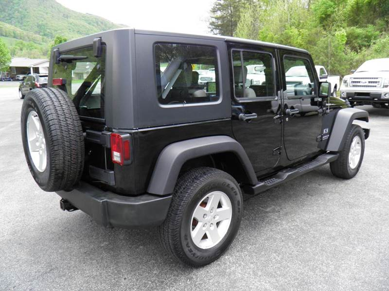 2007 Jeep Wrangler Unlimited X 4x4 4dr SUV - Riverton WV