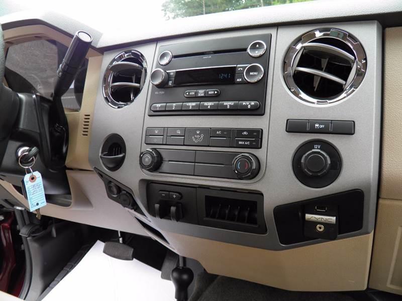 2016 Ford F-250 Super Duty 4x4 XLT 4dr Crew Cab 8 ft. LB Pickup - Riverton WV