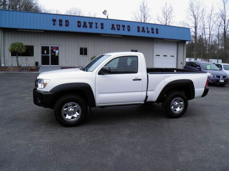 2013 toyota tacoma 4x4 2dr regular cab 6 1 ft sb 5m in riverton wv ted davis auto sales. Black Bedroom Furniture Sets. Home Design Ideas