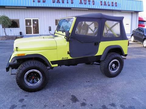 1985 Jeep CJ-7 for sale in Riverton, WV