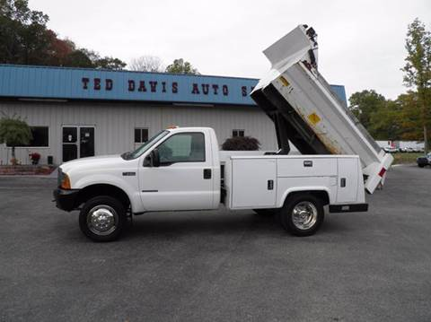 2000 Ford F-550 for sale in Riverton, WV
