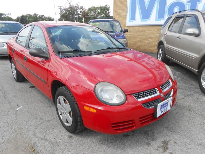 2003 Dodge Neon SE 4dr Sedan - Harvey IL