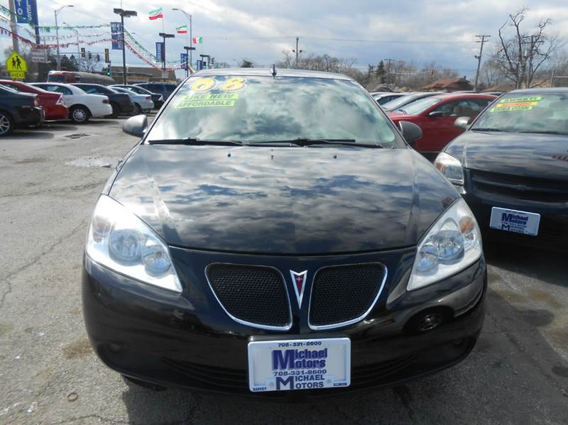 2008 Pontiac G6 GT 4dr Sedan - Harvey IL