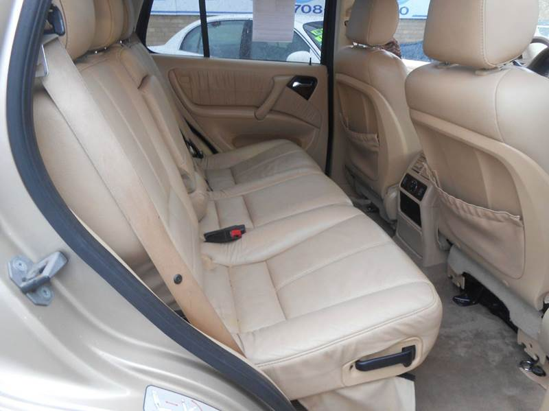 2002 Mercedes-Benz M-Class AWD ML 500 4MATIC 4dr SUV - Harvey IL