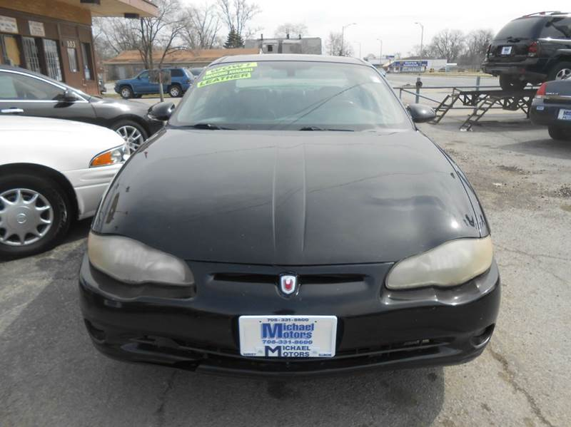 2004 Chevrolet Monte Carlo SS Supercharged 2dr Coupe - Harvey IL