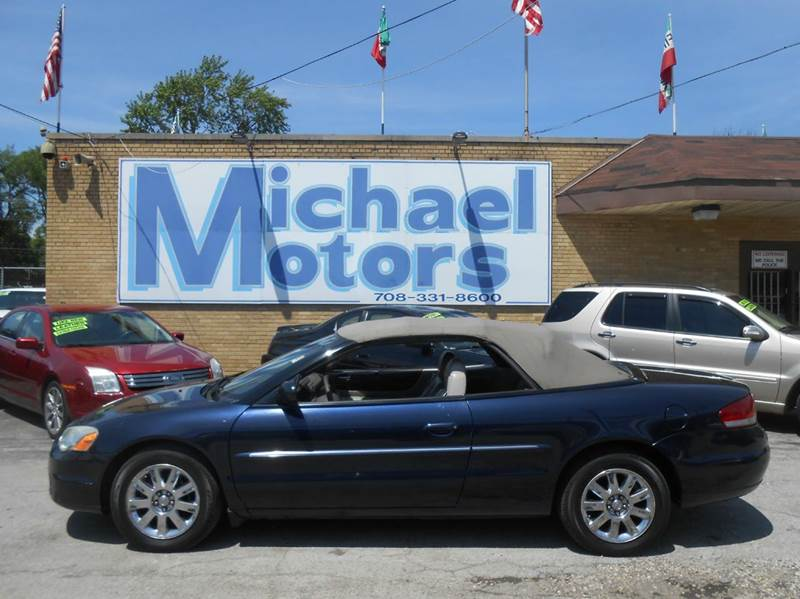 2004 Chrysler Sebring Limited 2dr Convertible - Harvey IL