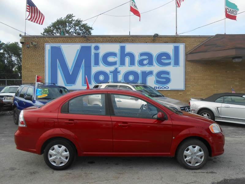 2009 Chevrolet Aveo LT 4dr Sedan - Harvey IL