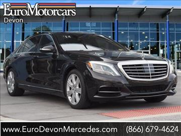 2014 mercedes benz s class for sale in devon pa