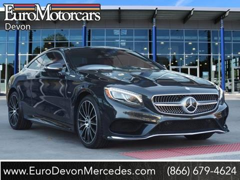 2015 Mercedes-Benz S-Class for sale in Devon, PA