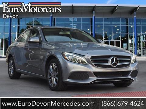 2015 Mercedes-Benz C-Class for sale in Devon, PA