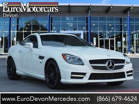 2014 Mercedes-Benz SLK for sale in Devon, PA