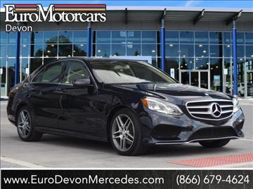 2014 mercedes benz e class for sale tampa fl for Napleton mercedes benz