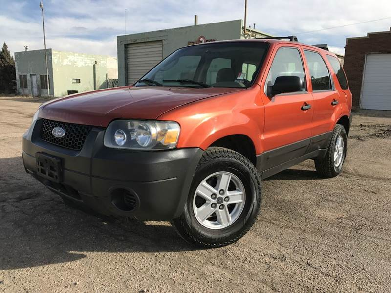 2006 ford escape awd xls 4dr suv w manual in commerce city. Black Bedroom Furniture Sets. Home Design Ideas
