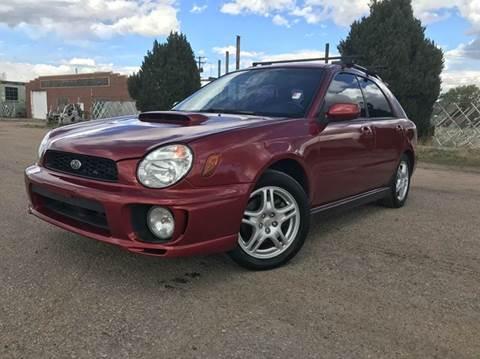 2002 Subaru Impreza for sale in Commerce City, CO