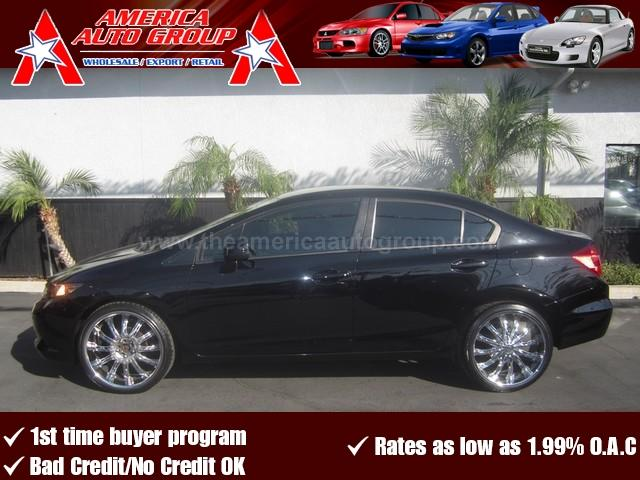 2012 HONDA CIVIC LX black great color combination black on gray comes fully equipped with all t