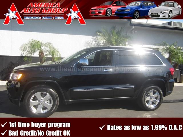 2012 JEEP GRAND CHEROKEE LIMITED black 4-wheel disc brakesacamfmanti-lock brakesanti-theftau