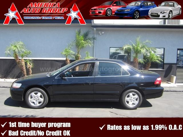2000 HONDA ACCORD EX WLEATHER black all advertised prices are cash  tax  lic  all governmen
