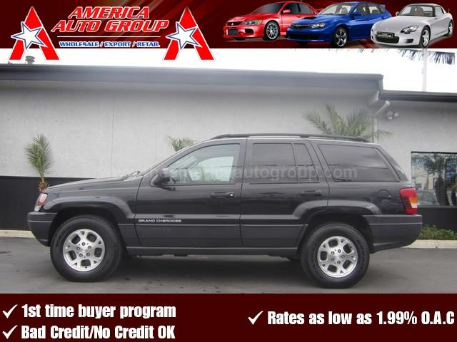 2003 JEEP GRAND CHEROKEE LAREDO black 4-wheel disc brakes4-wheel driveacamfmanti-lock brakes