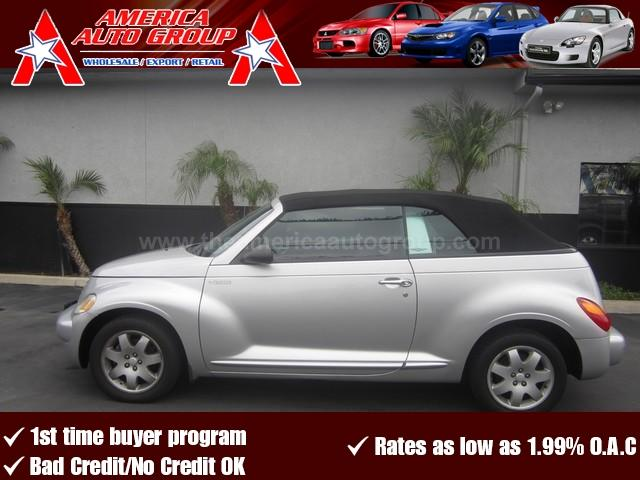 2005 CHRYSLER PT CRUISER TOURING silver all advertised prices are cash  tax  lic  all govern