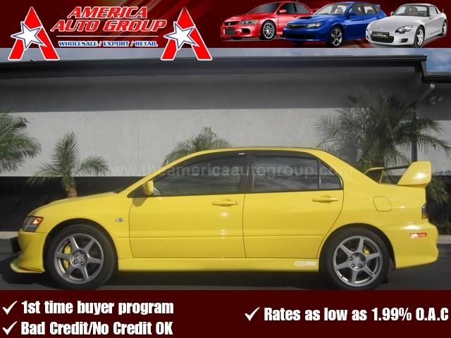 2005 MITSUBISHI LANCER EVOLUTION EVOLUTION VIII yellow heres another evo ready for any evo fan
