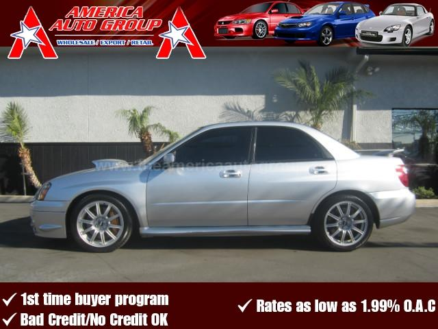 2004 SUBARU IMPREZA WRX STI SEDAN 4D unspecified abs 4-wheel air conditioning amfm stereo ca