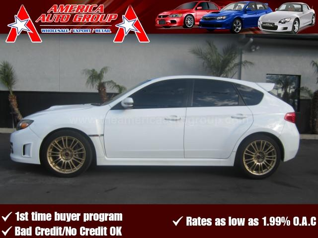 2008 SUBARU IMPREZA WRX STI SPORT WAGON 4D white abs 4-wheel air conditioning amfm stereo cr