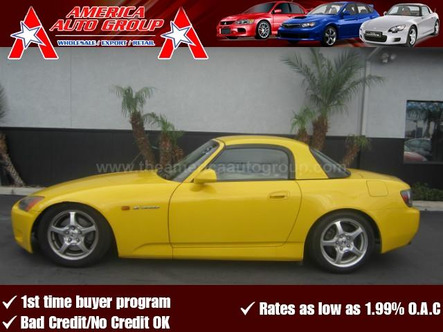 2001 HONDA S2000 yellow 4-wheel disc brakesacamfmanti-lock brakesanti-theftcd playercruise