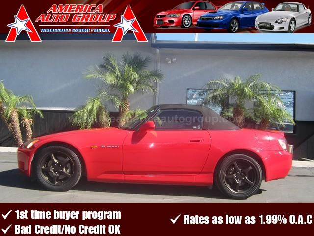 2001 HONDA S2000 red come check out this red on black ap1 s2000 you will definitely not be disa