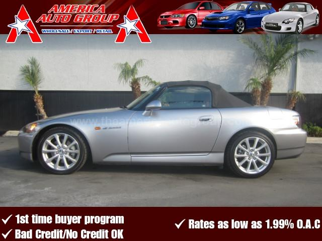 2006 HONDA S2000 CONVERTIBLE 2D gray abs 4-wheel air conditioning alloy wheels amfm stereo