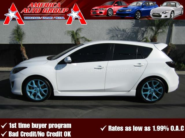 2012 MAZDA MAZDASPEED3 MAZDASPEED3 TOURING HATCHBACK 4D white abs 4-wheel air conditioning all