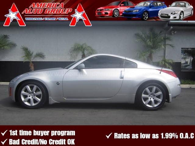 2003 NISSAN 350Z silver perfect color combination silver on black  this is a 6 speed manual