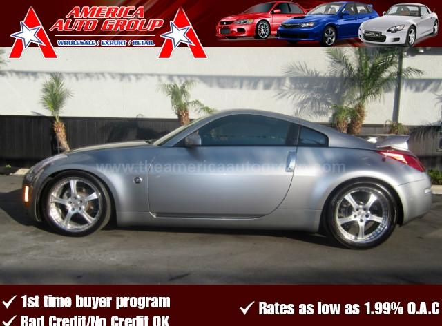 2003 NISSAN 350Z TOURING COUPE 2D gray abs 4-wheel air conditioning amfm stereo bose premium