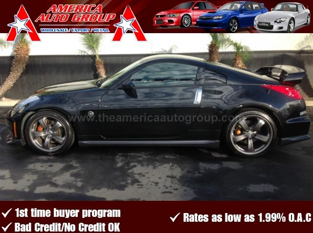 2008 NISSAN 350Z NISMO COUPE 2D black come check out this unique car 0892 this nismo is flawles