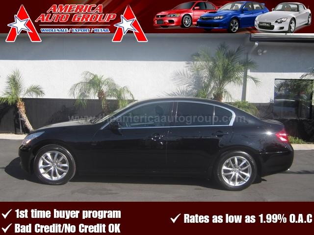 2008 INFINITI G35 JOURNEY black perfect color combination black on black this g37 comes with al