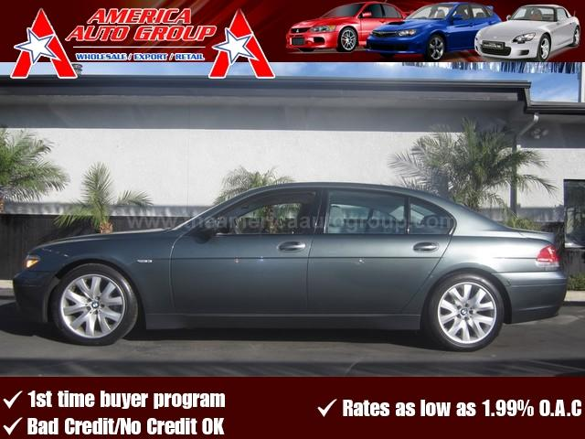 2004 BMW 7 SERIES gray 4-wheel disc brakesacamfmanti-lock brakesanti-theftauxiliary power ou