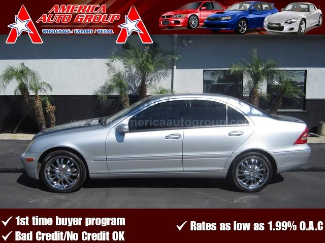 2004 MERCEDES-BENZ C-CLASS 32L silver price reduction  now only 8995 sporty and stylish l