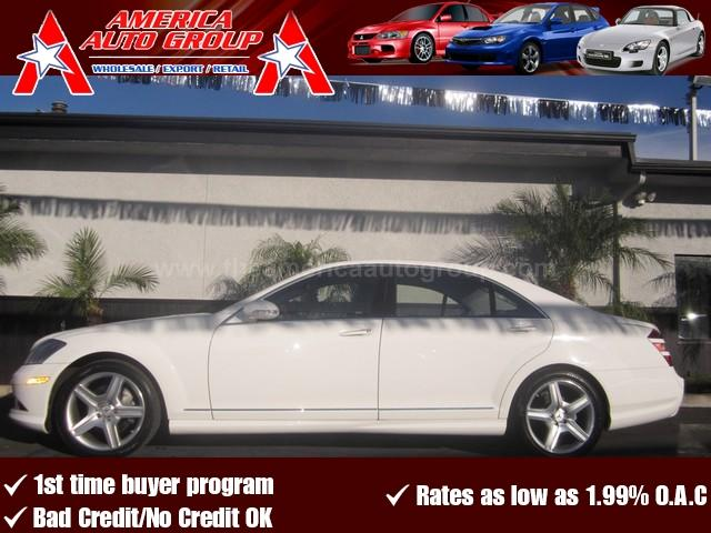 2008 MERCEDES-BENZ S-CLASS 55L V8 white 4-wheel disc brakesacamfmanti-lock brakesanti-theft